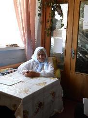The oldest singer in khutor Bobry